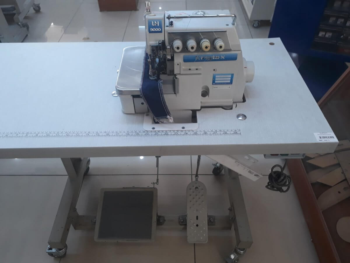 KİNGTEX 9000 UH 5 İPLİK OVERLOK MAKİNASI